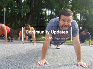 Community Updates JULY 24th, 2017