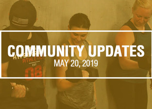 Community Updates - May 20th, 2019