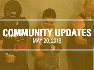 Community Updates - May 20th, 2019