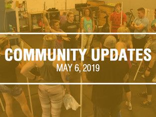 Community Updates - May 6th, 2019