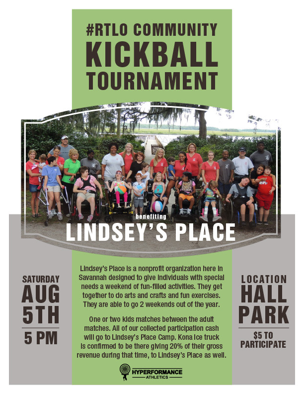 Community Kickball for a cause
