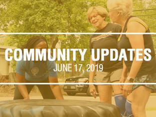 Community Updates - June 17th, 2019