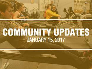 Community Updates January 15, 2018