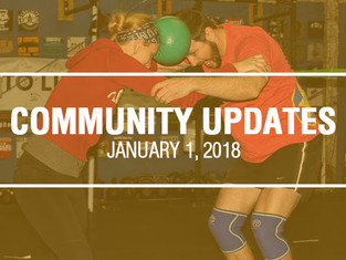 Community Updates January 1, 2018