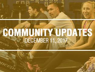 Community Updates December 11, 2017