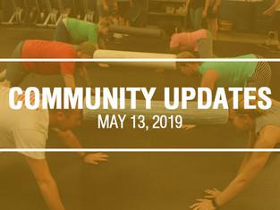 Community Updates - May 13th, 2019
