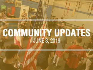 Community Updates - June 3rd, 2019