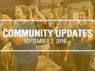 Community Updates: DORIAN EDITION