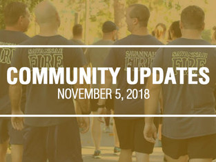 Community Updates - November 5th, 2018