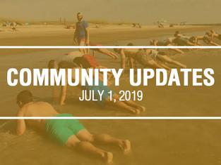 Community Updates - July 1st, 2019