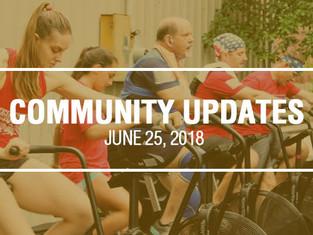 Community Updates June 25, 2018
