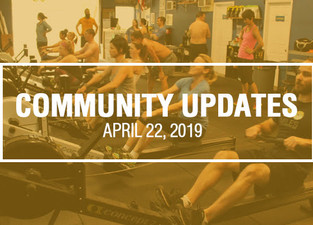 Community Updates - April 22nd, 2019
