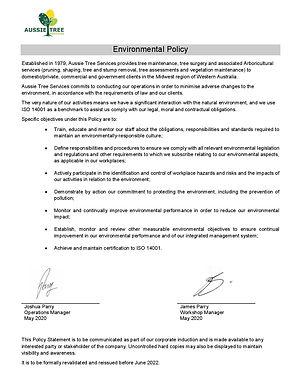 Policy Environmental