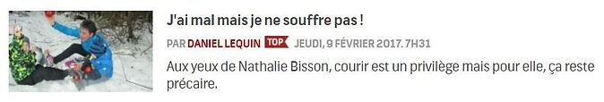 RDS; le grand club; Nathalie Bisson