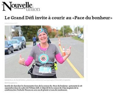 Nathalie Bisson Le Grand Défi