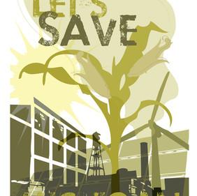 Lets Save MI Poster