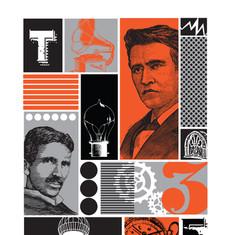 Edison vs. Tesla Poster