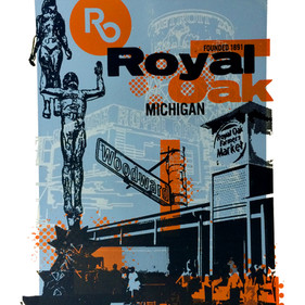Royal Oak City Poster