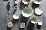 coleção de cerâmica