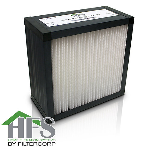 HFS Home Ventilation Filter - F8 ABS Frame Mini Pleat
