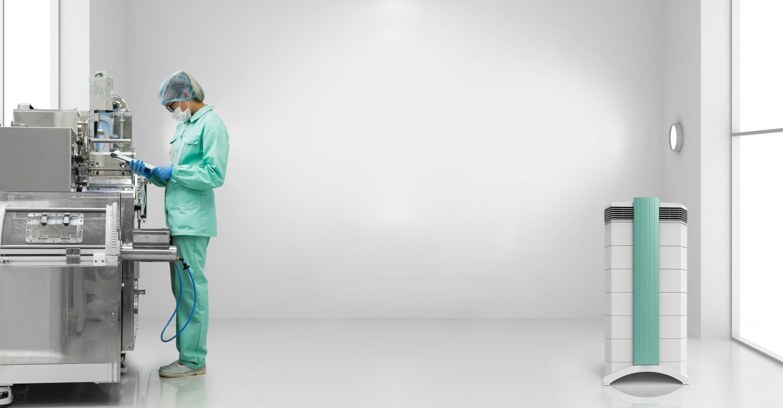 IQAir® Hospital Grade Filtration