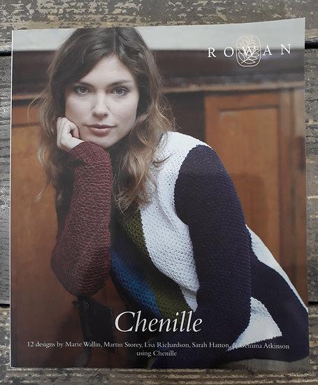 Rowan Chenille Collection Book
