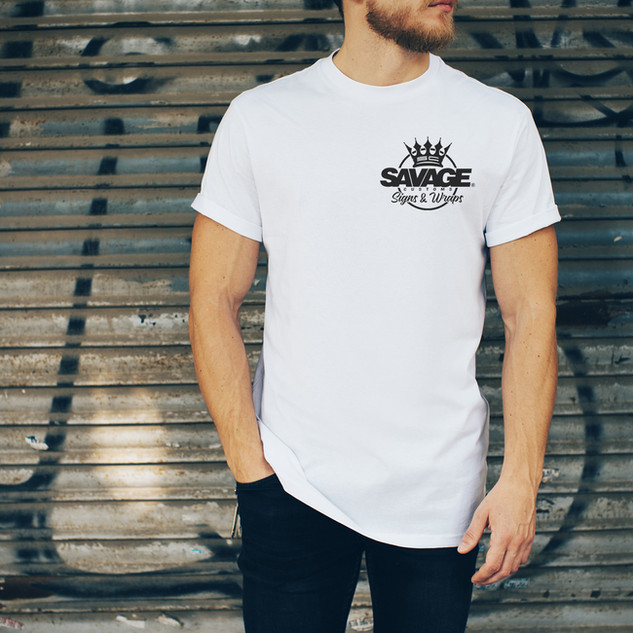 Savage Male White Tee Front.jpg