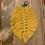 Thumbnail: Leaf Bag Charm - Turmeric