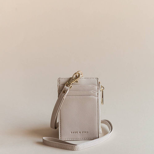 Caffe Lanyard Card Holder
