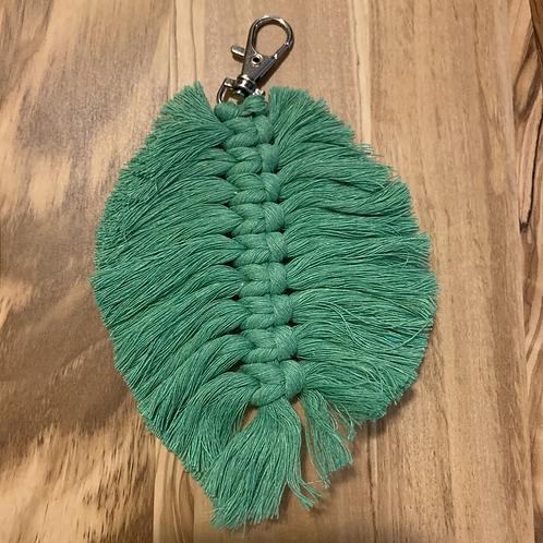 Leaf Bag Charm - Evergreen