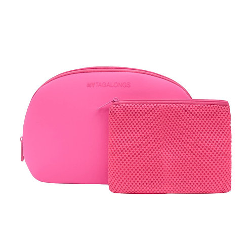 Pink Dome Cosmetic Case