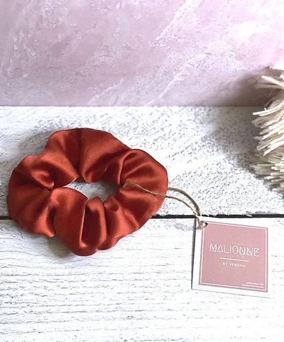 Burnt Red Scrunchie