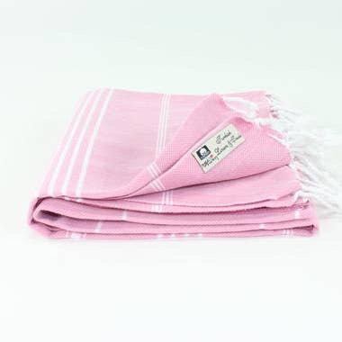 """Toalla turca en """"Pink Lilac"""""""