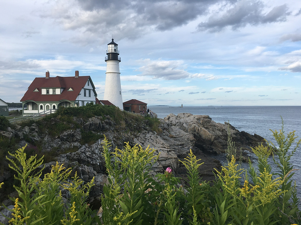 Portland Head Light Fort Williams Park Maine