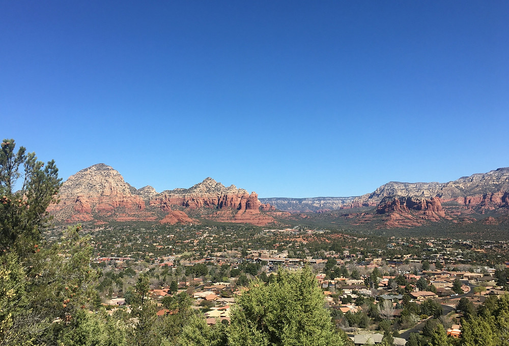 Airport Overlook Sedona Arizona