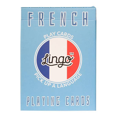 Learn French Playing Cards