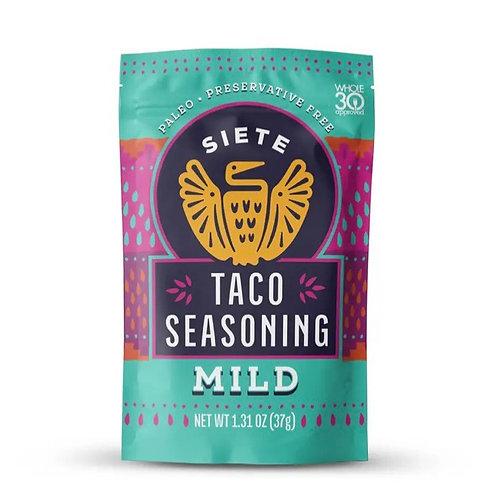 Siete Foods Mild Taco Seasoning