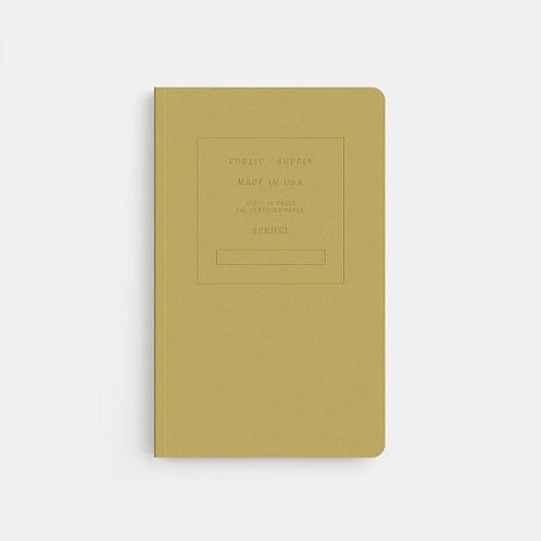 Tan Velvet Soft Cover Notebook