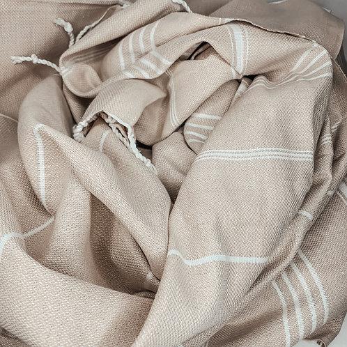 "Turkish Towel in ""White Sands"""