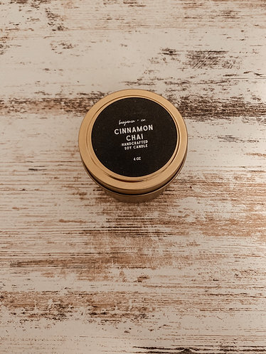 Cinnamon Chai Travel Candle