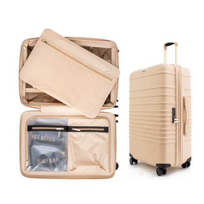 BEIS 21-Inch Rolling Spinner Suitcase