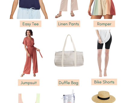Summer Weekend Road Trip Packing Guide