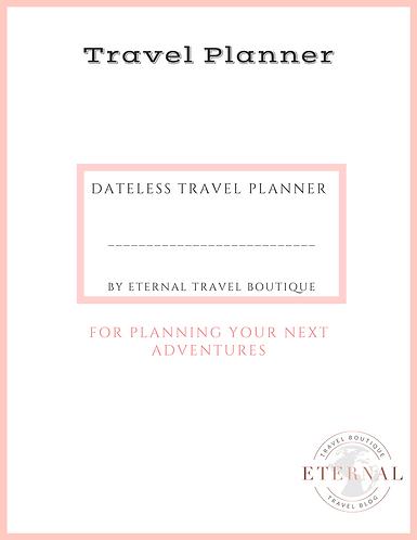 Planificateur de voyage éternel
