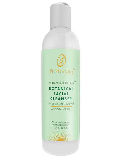 Wotani™ Bright Skin Botanical Facial Cleanser