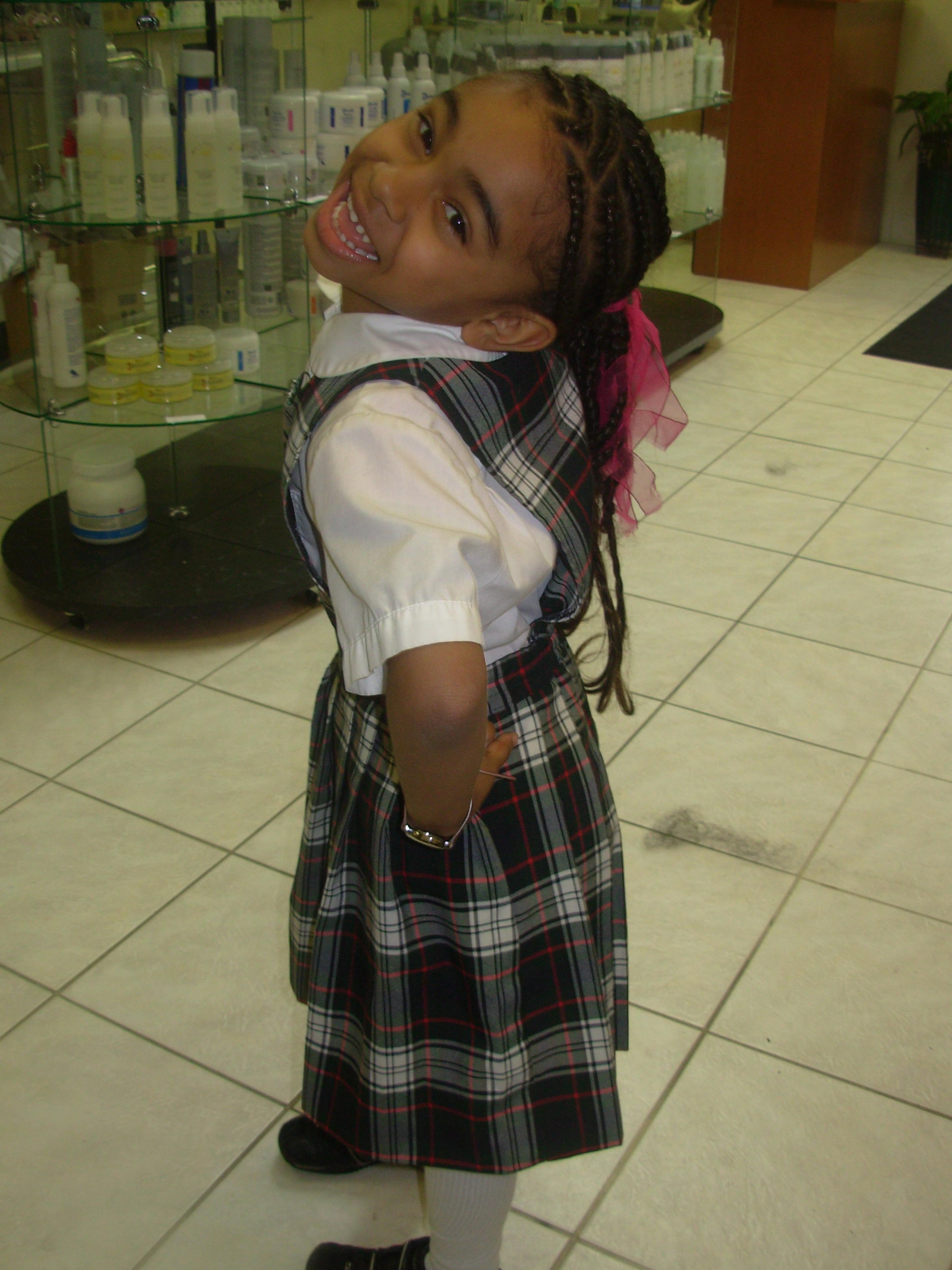 zora in private school