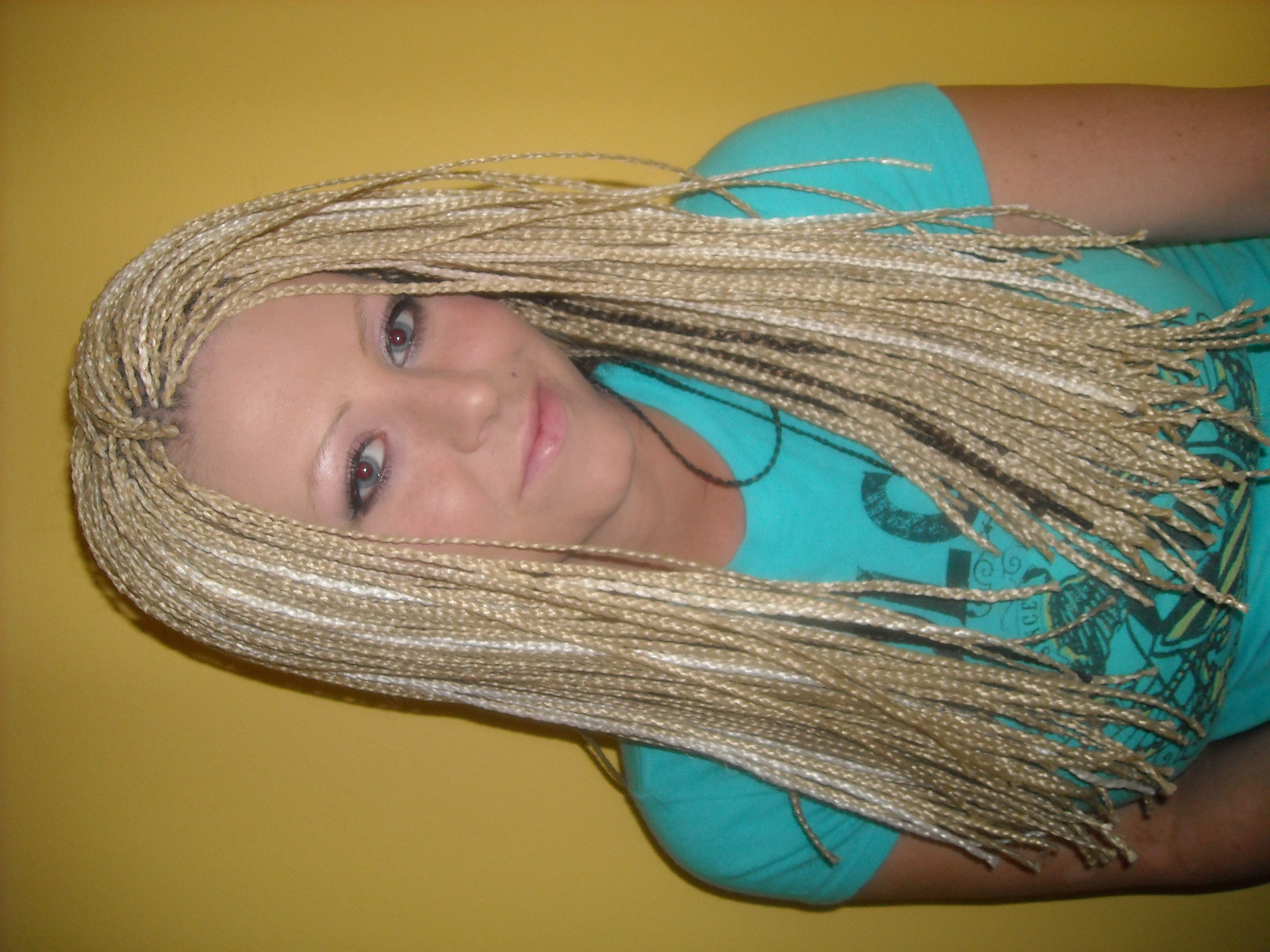 Micro single Braids bellingham zoras salon