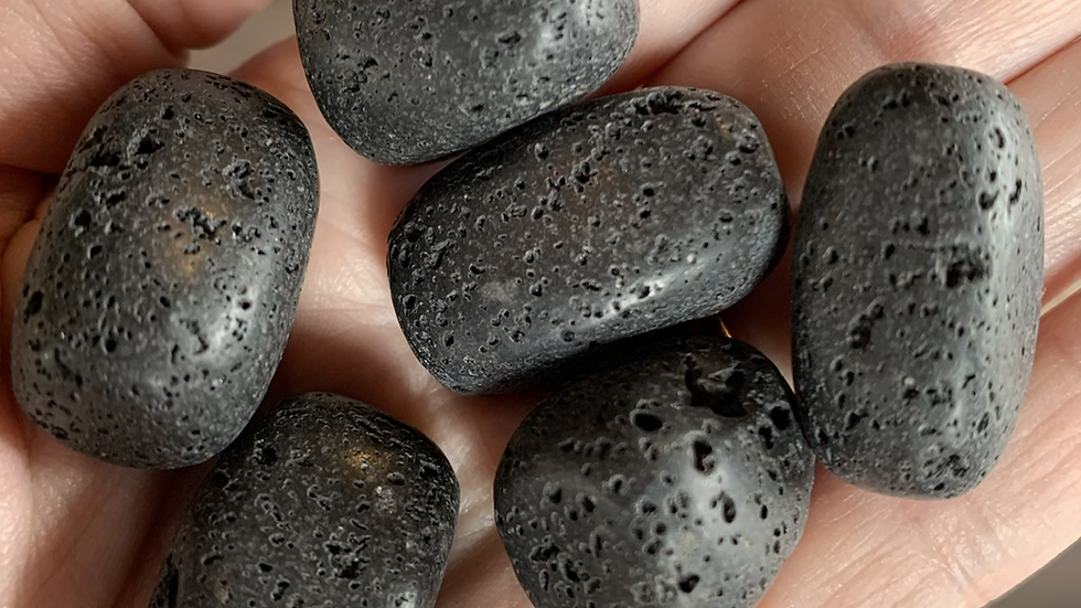 Lava Stone to connect to creative power