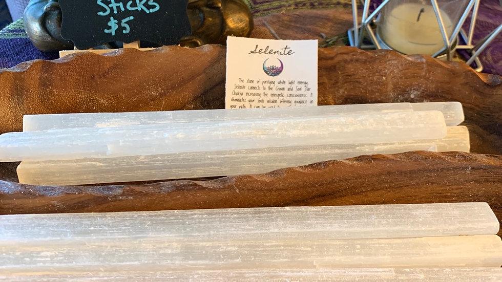 Selenite Sticks