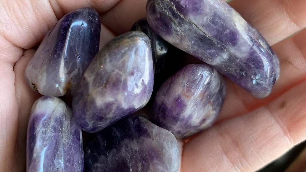 Moroccan Amethyst violet flame for spiritual evolution