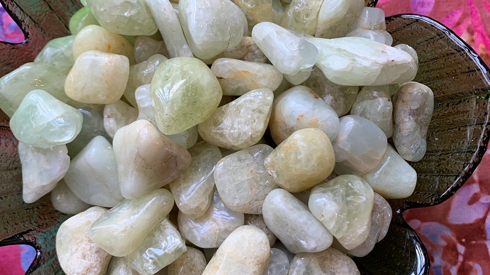 Aquamarine with gentle and tender energy